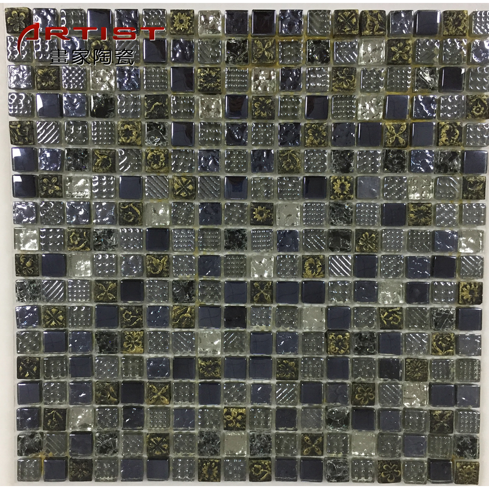 Best Quality Wholesale Price Peel And Stick Metal Mosaic Tile