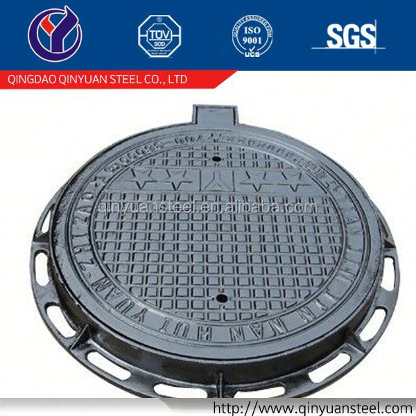manhole cover frame from cast iron foundry, locking manhole covers