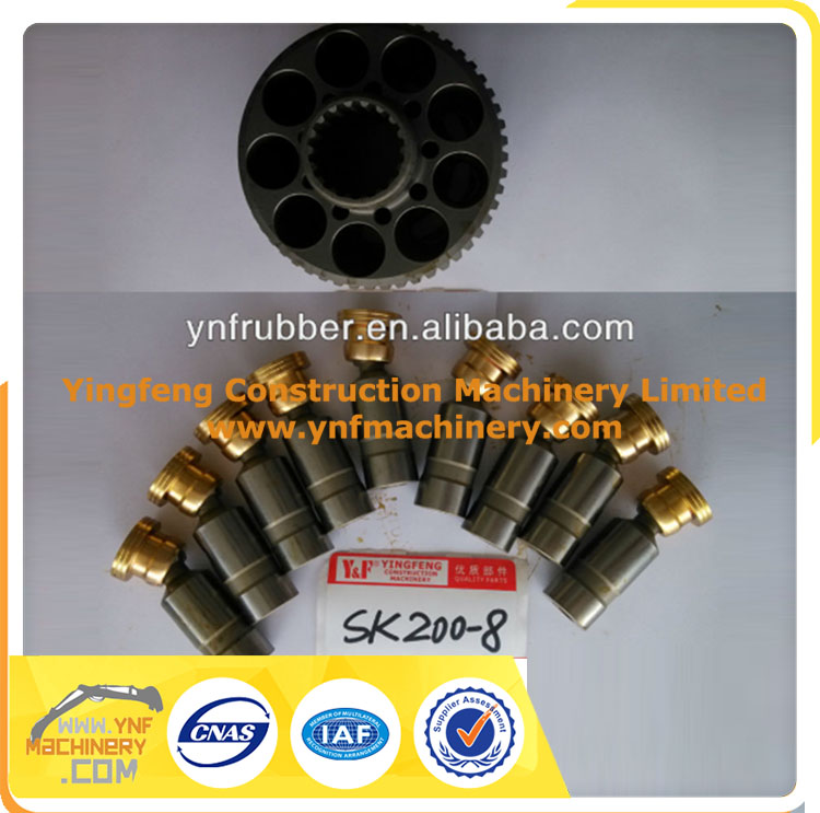 For KOBELCO SK200-8 EXCAVATOR TRAVEL MOTOR parts, YN15V00037F2 travel motor parts for SK200-8, for KOBELCO TRAVEL MOTOR parts