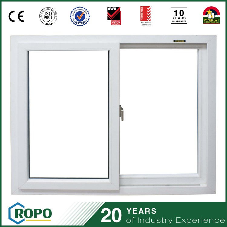 commercial window price, upvc profile sliding type commercial window