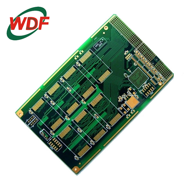 3D video camera pcb board base with FR4 high TG 170