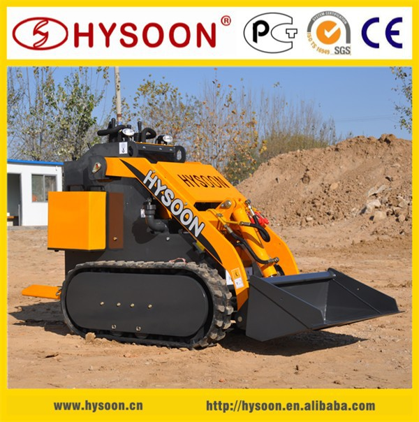 Agriculture farm machinery HYSOON HY380 multi-purpose farm mini tractor