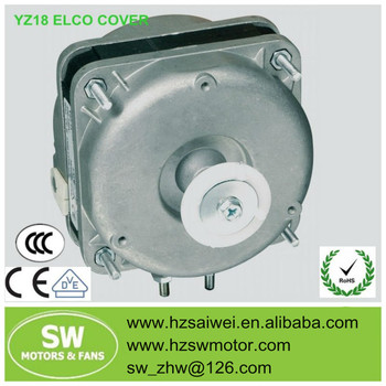 YZ5-13 Ac Shaded Pole Motor with ELCO Cover