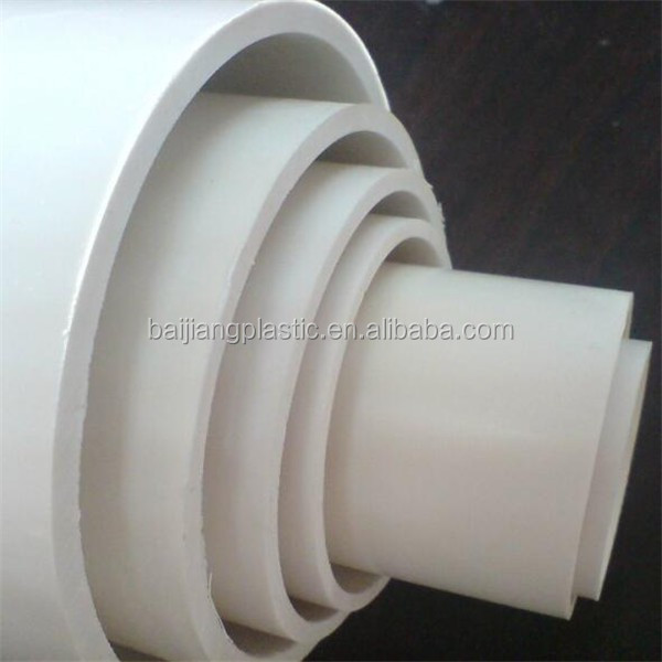 baijiang well sale upvc pipe specification for Water Supply and Drainage