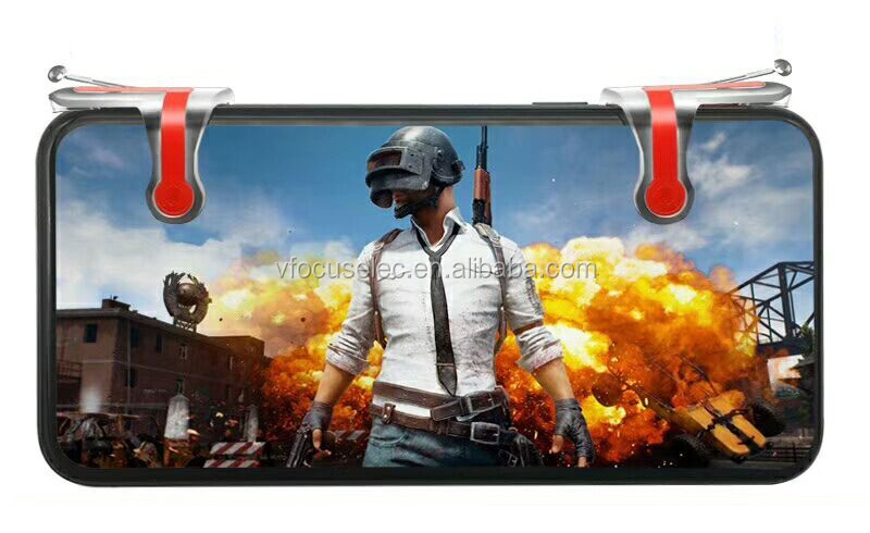 PUBG mobile gaming trigger l1r1 and hand grip gamepad combo combine package