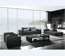 famous brand top supplier modern fabric L-shape combination sofa