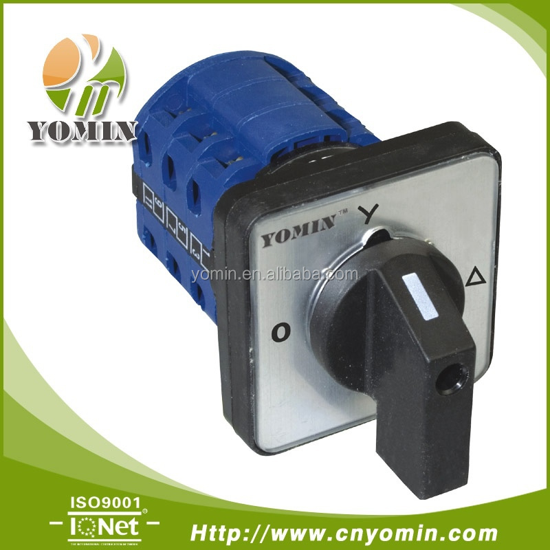 Hot Selling DW26 rotary switch 10A 20A 25A 32A 63A 125A 3Position cam / changeover switch