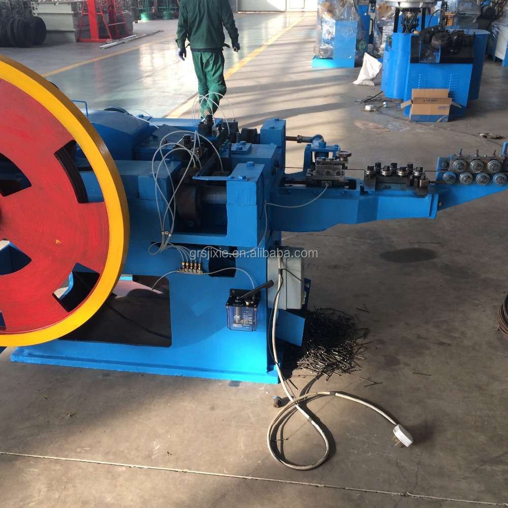 nail and wire plant making steel machinery