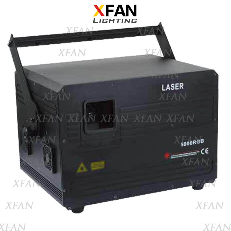 5W Red Green Blue full color animation Laser stage light