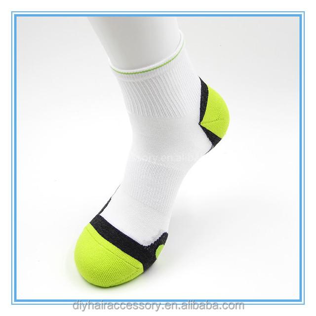 Men's Active Sports Microfiber Nylon Socks Arch Support Half Terry