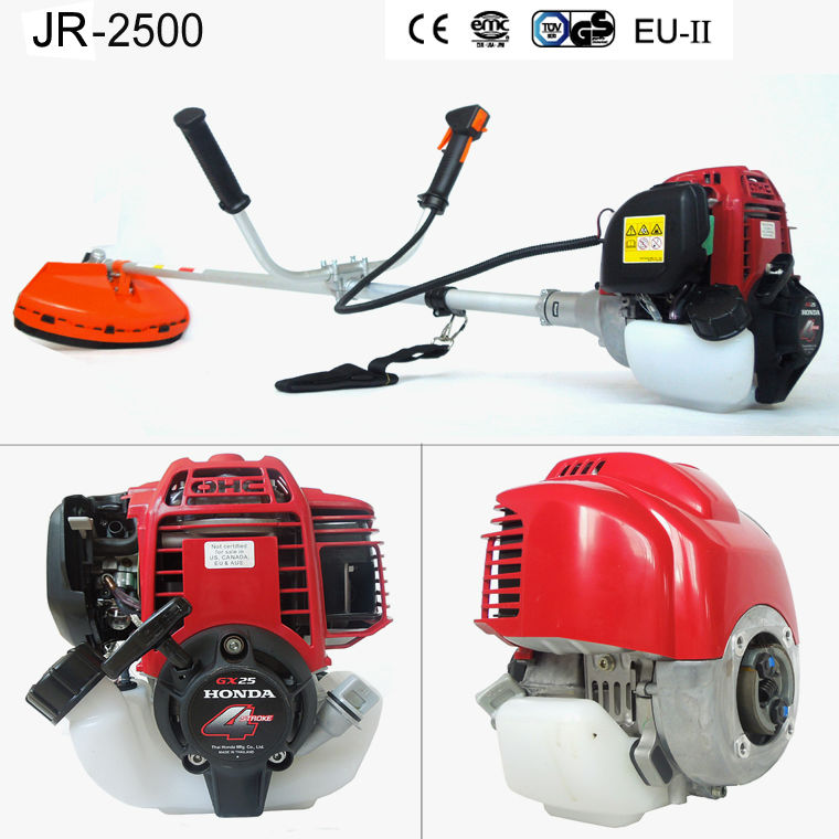 Factory sales JR-2500 wheel brush cutter with wheels