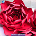 Stage Decoration Backdrop Design With Large Giant Paper Flowers