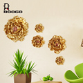ROOGO Hight Quality Home Decoration Gold Peony Wall Hangings for Sale