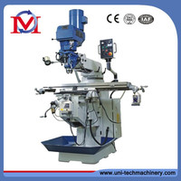 Cheap keyway manual turret milling machine x6325