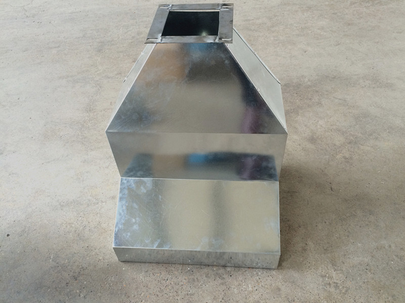 custom produce Rectangular Exhaust duct ductwork