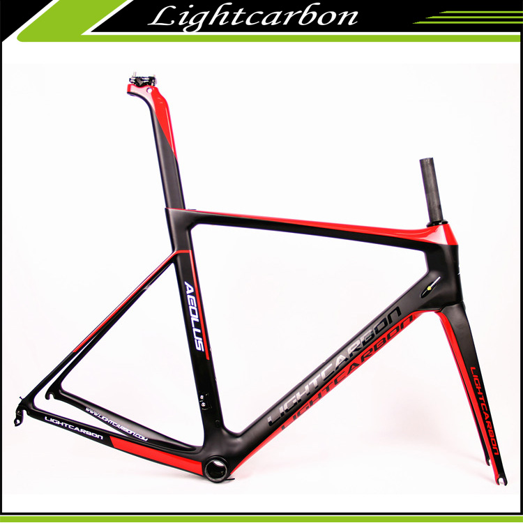 2017 Light carbon 700C road bike frames chinese carbon bicycle RACE road frame LCR004-V High Performance