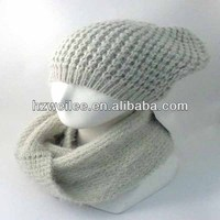 Ladies designer hat and scarf sets