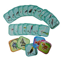24 cards of Birds Series the most popular Preschool Educational AR animal for Kids