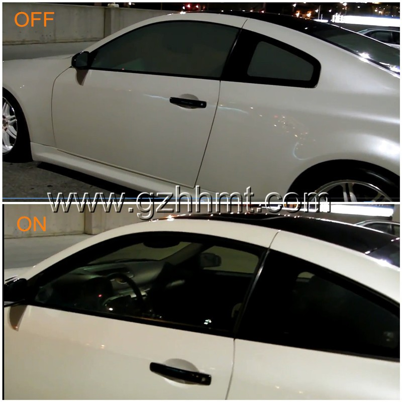 black PDLC electric window tint smart film car window tinting