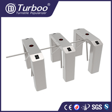 Stainless steel semi-automatic waist height tripod turnstile access control