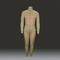 full body male suits tailors cutting models