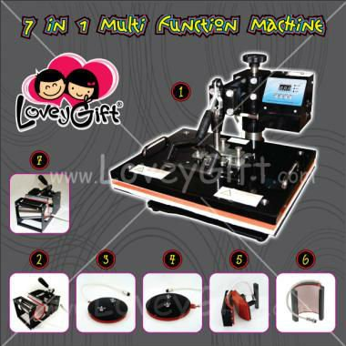 7 in 1 Combo Heat Press Machine