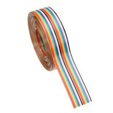 ul2468 24awg 2cores red and black flat ribbon cable and wire