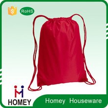 Factory Price Promotional Custom Waterproof Polyester Cheap Cotton Drawstring Shoes Bags