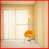 best price Sun shading PVC anti-UV curtain blinds good quality home, office decor vertical blind and curtain