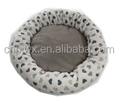 embossed velvet cut cat mat pet bed