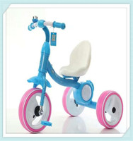 2016 China wholesale hot sale high quality baby tricycle for children with subwoofer and colorful light on the three wheels