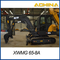 XWMG mini 65-8A crawler new excavator for sale 6 tons