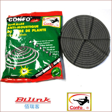 Environmental plant fiber nature mosquito coil