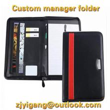 Professional manufacturer high quality pu leather notebook
