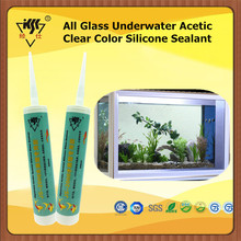 All Glass Underwater Acetic Clear Color Silicone Sealant