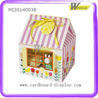 Eco-friendly Custom Lovely Creative Paper Packaging Box for Bread