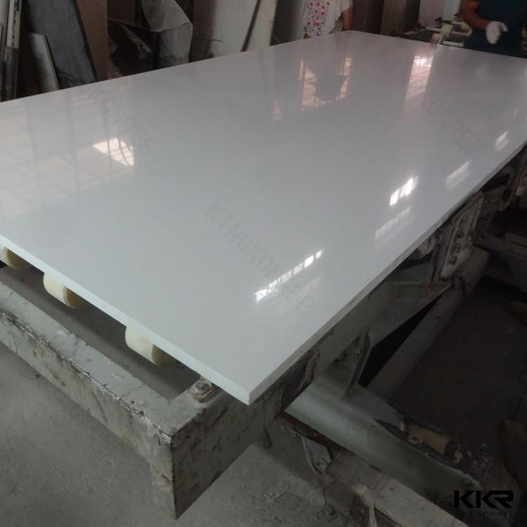 Sparkle White Glitter Floor Tilesman Made Quartz Shower Stone Wall
