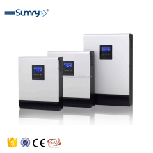 3kva 2400w 24v 220v pure sine wave high frequency solar inverter with built in MPPT 60A