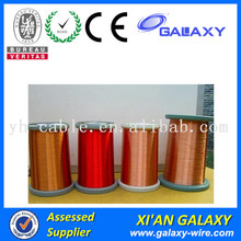 CCA enameled copper coated aluminum electrical wire enameled wire
