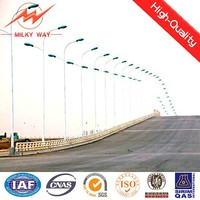 10 meters lighting pole price export to Saudi Arabic
