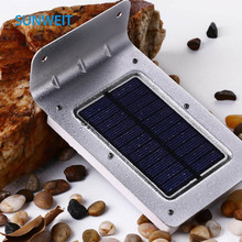 Solar Powered Outdoor Wall mounted waterproof Motion Sensor LED Garden light