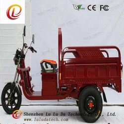 48V 700w 15pipes controller Hydraulic shock absorber Rear Axle Differential motor cargo tricycle