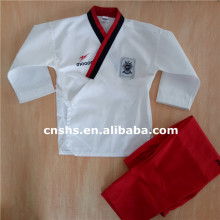 Martial arts WTF standard taekwondo poomsae uniform and dobok