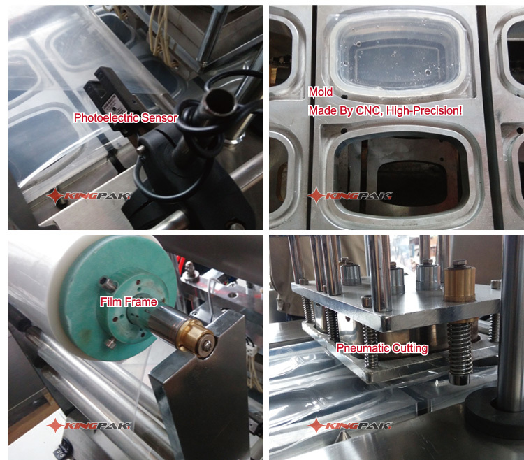 BG32 Automatic Continuous Plastic Cup Sealing Machine