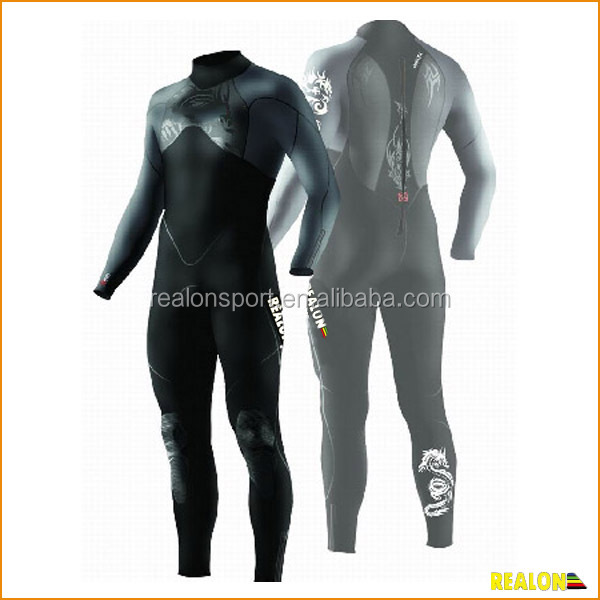 custom full flexible rubber diving suit