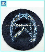 fashion hat cheap wholesale wool beret for girls