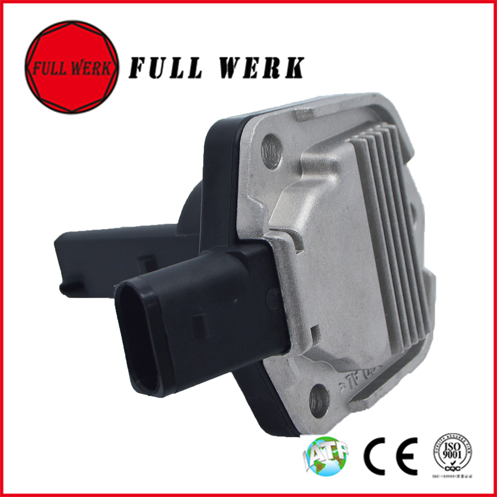 FULL WERK Engine Oil Level Sensor For VW Bora Jetta Golf MK4 Passat Beetle 1J0 907 660B A4 A6 A8 ALLROAD TT S4