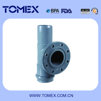 ALL SIZES HIGH QUALITY FLANGE TEE RUBBER FITTING WHOLESALE
