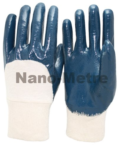NMSAFETY white cotton grip gloves