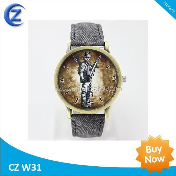 stainless steel wrist custom logo watches, factory sale OEM cheap watches